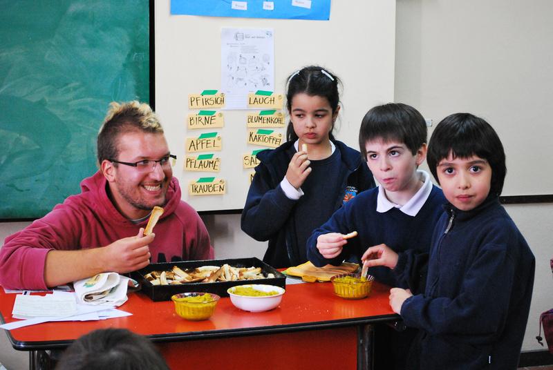 """""""kulturweit""""-Freiwilliger an der DS Bariloche"""