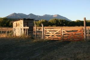 Eingang zur damaligen Farm von Butch Cassidy und Sundance Kid