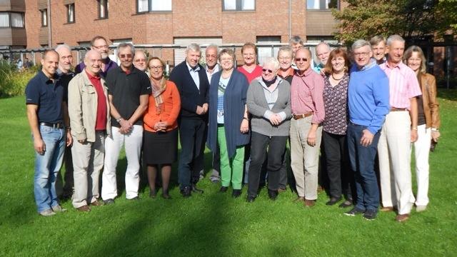 GEW-Vorsitzende Tepe und AGAL-Vertreter in Bonn